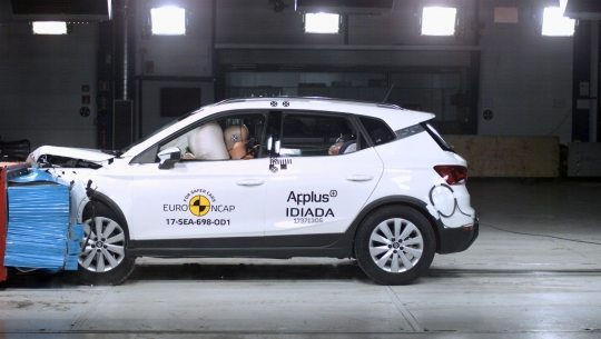 MAXIMAAL AANTAL EURO NCAP-STERREN VOOR SEAT ARONA