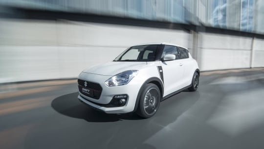 Suzuki introduceert de Swift Sportline