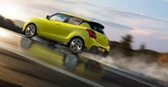 Suzuki Swift Sport verkrijgbaar bij Auto Traa