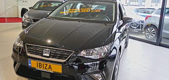 SEAT Ibiza actiemodel