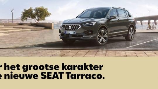 SEAT Tarraco Roadshow 11 januari