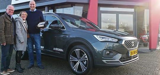 Auto Traa levert eerste SEAT Tarraco in Nederland