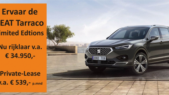 [Video] De nieuwe SEAT Tarraco Limited Editions