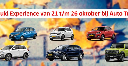 Gratis smart-TV tijdens Suzuki Experience van 21 tot en met 26 oktober