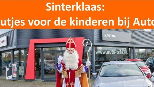 Videoboodschap van Sinterklaas: cadeautjes voor kinderen bij Auto Traa