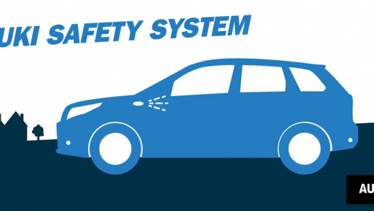 [Video] Suzuki Safety System
