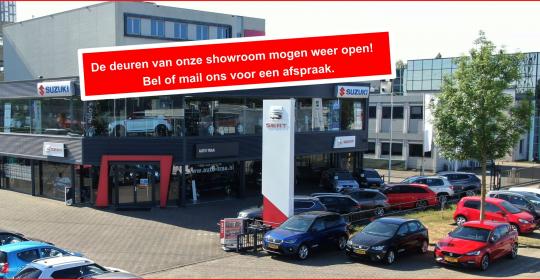 De deuren van onze showroom mogen weer open!