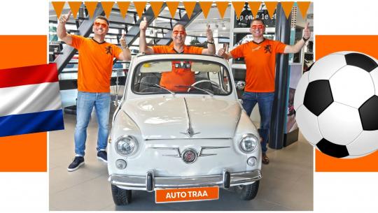 Oranje Prijzenfestival bij Auto Traa