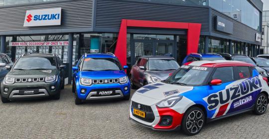Nieuwe voorraad Suzuki's